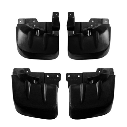 NISTO 4 Front Rear Mud Flap Splash Guard Rubber Right Left For 2005-2014 Mitsubishi L200 4WD Pickup Truck
