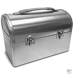 Plain Metal Dome Lunch Box