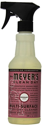 - Mrs. Meyer's Clean Day Multi-Surface Everyday Cleaner, Rosemary, 16 fl oz