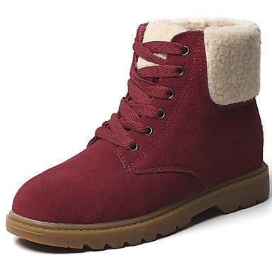 18b6d29551a ZHENG Women039 s Shoes Suede Spring Fall Winter Cowboy Western Boots Snow Boots  Boots