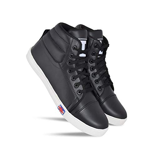 Boys Stylish Casual Black Sneaker Shoes