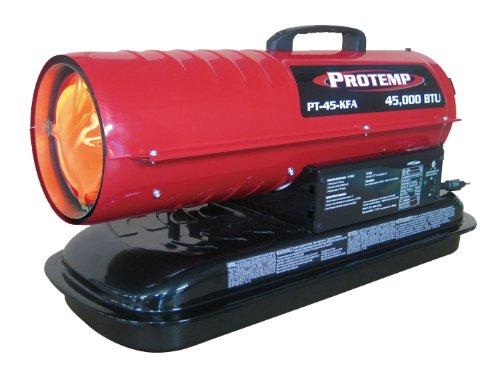 45,000 BTU Kerosene Forced Air Heater