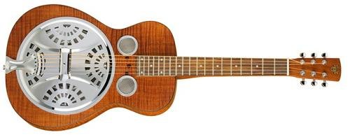 Epiphone Dobro Hound Dog Deluxe Square Neck Acoustic / Electric Resonator Guitar (Epiphone Acoustic Electric)