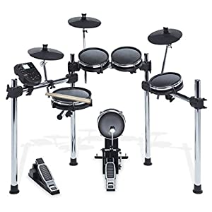 Alesis Surge Mesh Kit   Eight-Piece Electronic Drum Kit with Mesh Heads   40 Kits, 385 sounds, 60 Play-Along Tracks… Drum Sets