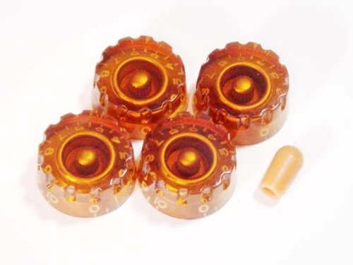 MIJ Customized Speed Knobs and Toggle knob Set (Inch) amber fa-cspd5inch-amb