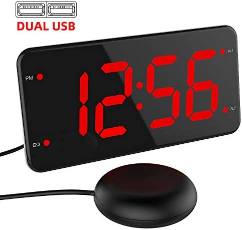 Vibrating Sleepers Hearing Charger Display product image