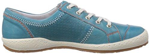 Josef Seibel Caspian - zapatilla deportiva de cuero mujer azul - Blau (727 013 lagoon)