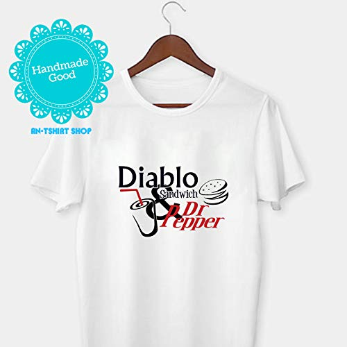 Smokey And The Bandit Diablo Sandwich & Dr. Pepper T-Shirt For Men And Women (Diablo Sandwich And A Dr Pepper T Shirt)