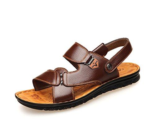 Zapatillas Sandalias para Ocasionales Playa Respirables Hombre De Darkbrown Zapatillas fpAxpwOqH