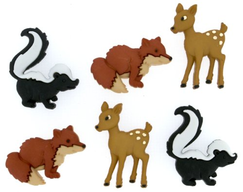 "Dress It Up 7825 ""Forest Friends"" Novelty Embellishments"