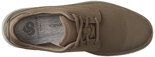 Clarks Mens Tunsil Plain Oxford Stone