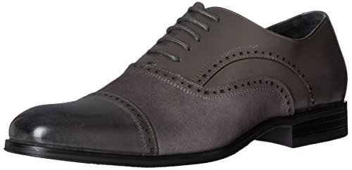 Stacy Adams Mens Sedgwick Cap-toe Oxford Scarpa Grigia