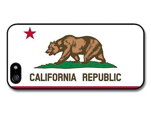 California Republic Flag Illustration coque pour iPhone 5 5S