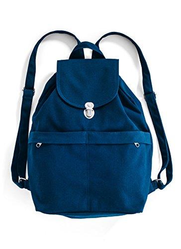 BAGGU Canvas Backpack - Indigo
