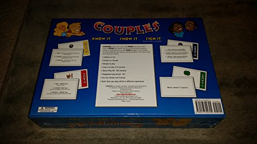 Sign It Board Game Show It Couples Know It
