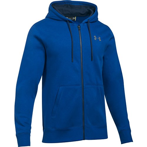 Under Armour Storm Rival Cotton Full Zip Training Top - SS17 - (Full Zip Water)