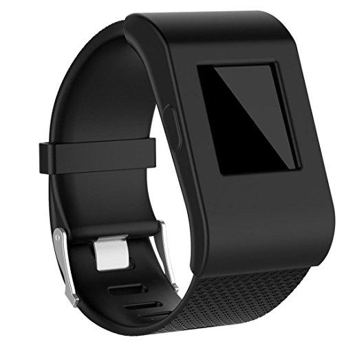 Housse pour Fitbit Surge, magiyard Housse de bande Concepteur De Silicone Slim