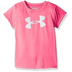 Best Epic Trends 41qLfvHzsZL._SS300_ Under Armour Girls' Wordmark Logo Short Sleeve Tee
