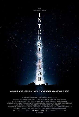 Amazon.com: Interstellar Movie Poster 27 x 40 Style E 2014 Unframed: Posters  & Prints