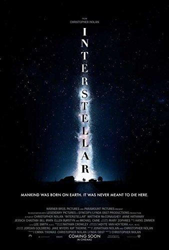 Interstellar Movie Poster 27 x 40 Style E 2014 Unframed