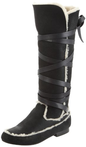 schwarz noir Tatoosh Stivali negro Donna Melinda Nero 0wxvqvfOI