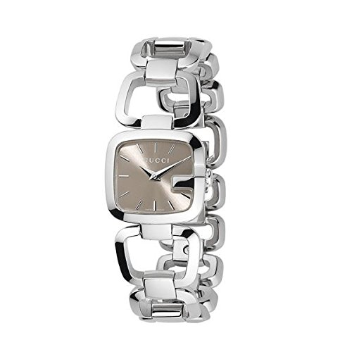 Gucci G-Gucci Brown Dial Stainless Steel Quartz Ladies Watch - 8 Series Watch Sapphire Ladies