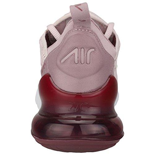 W Nike Air Max 270 Vrouwen Ah6789-601 Nauwelijks Rose / Uitstekende Wijn-elemental Rose