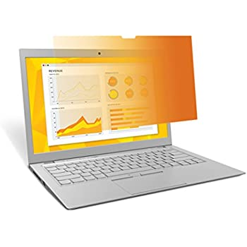 "3M Gold Privacy Filter for 14"" Widescreen Laptop with High Resolution Display (1920x1080) (GH140W9B)"