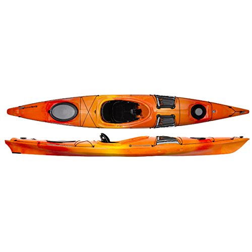 Wilderness Systems 9720408054 Tsunami 140 Kayaks, Mango, 14'