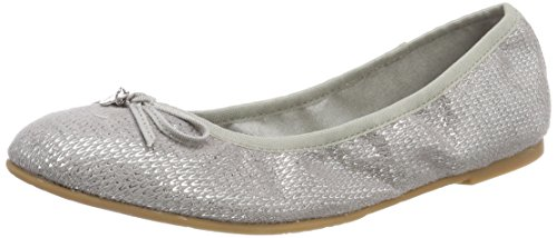 Para Gris grey 22106 Mujer oliver Bailarinas Structure S zHtvw1qx4