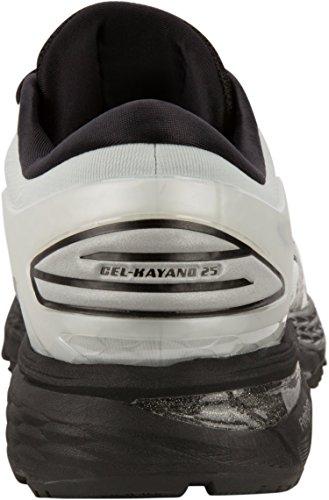 25 Men's Kayano Shoe Running Black Gel Grey Glacier ASICS qtwE4PW