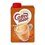 Coffee Mate, SUSTITUTO DE CREMA LIQUIDO PARA CAFÉ COFFEE MATE CARAMELO 530ML, 530 mililitros