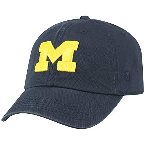 NCAA Michigan Crew Adjustable Hat, Navy