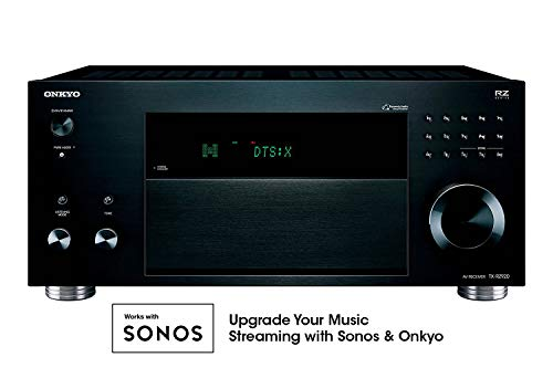 Onkyo TX-RZ920 THX-Certified 9.2 Channel Network A/V Component Receiver Black (Audio Rack Legacy)