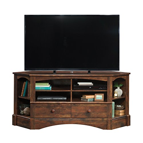 Cherry Entertainment Credenza (Sauder 420471 Harbor View Corner Entertainment Credenza, Curado Cherry)