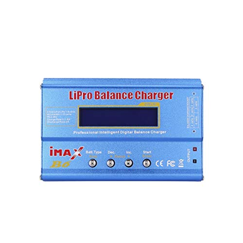 Cargador del Balance iMAX B6 80W 6A Lipo NiMh con 15V / 6A ...