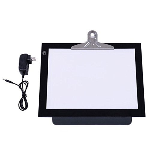 14'' LED Light Board Pad Stencil Drawing Tracing Table Box by KOVAL INC.