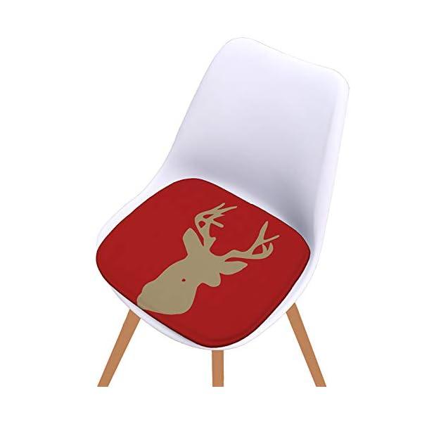 Fablcrew Cuscini per sedie, Morbido Cuscino per Sedia Cuscino Sedia Cucina da Giardino, per Cuscino Auto, Cuscino per… 2 spesavip
