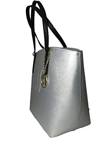 TRUSSARDI ISCHIA ECOLEATHER SHOPPING BAG