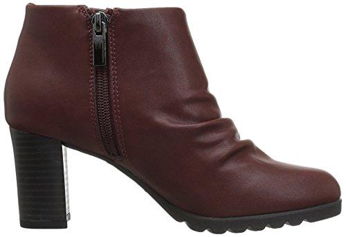 Breena Ankle Bootie Bordeaux Easy Street Women's qwPMaE