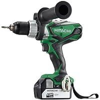 Hitachi 932.123.36 Taladro percusión-Atornillador 18v 2 baterías deslizantes