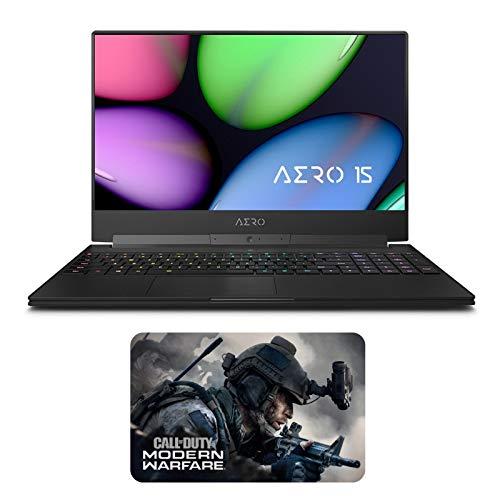 """نوت بوک بازی GIGABYTE AERO 15 XA-7US2130SH Enthusiast (i7-9750H ، 32 GB RAM ، 1TB NVMe SSD، NVIDIA RTX 2070 8GB، 15.6 """"Full HD 240Hz، Windows 10)"""