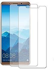 [2 حزمة] واقي شاشة HuaWei Mate 10 Pro ، 0.33 مم 9H حافة دائرية ، مقاوم للخدش وبصمات الأصابع ، واقي شاشة من الزجاج المقوى خالٍ من الفقاعات