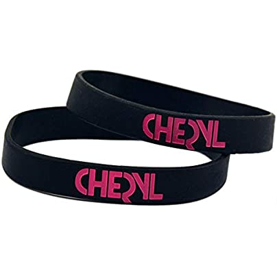 Sxuefang Silicone Bracelets With Logo Cheryl Cole Rubber Wristbands For Kids Motivation Set Pieces Estimated Price £29.99 -
