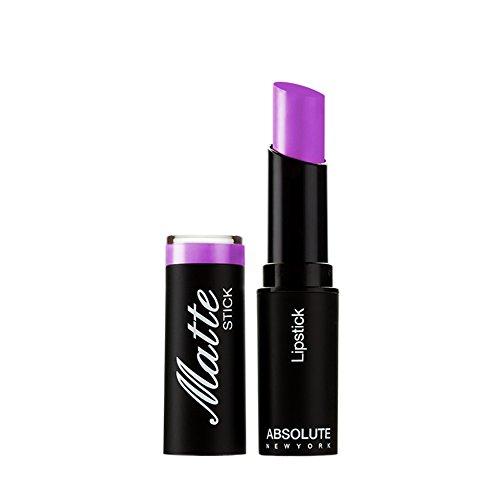 Absolute New York Matte Stick Lipsticks, Blue/Purple, 5.4g