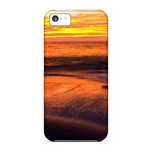 Favorcase Snap On Hard Cases Covers Excellent Sunset Protector For Iphone 5c