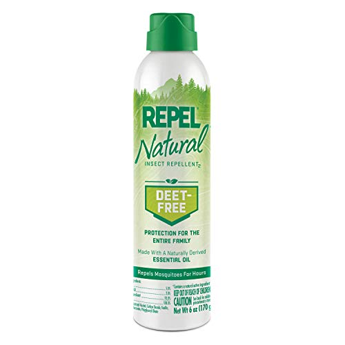 (Repel DEET-Free Insect Repellent, Aerosol, 6-Ounce,)