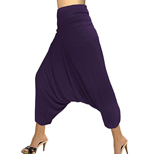 Pant Taille Élastique Royal Kraft Mode Harem Unicolores Bonneterie La Coton xOwRwp