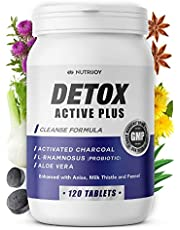 Detox Active Plus Detox Cleanse Weight Loss   Melkdistel en Probiotica reinigen tabletten   Kolon reinigen Detox en Buikvet