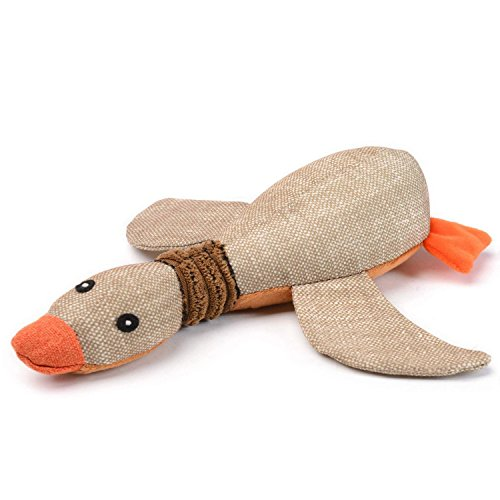 Dog Squeaky Toys For Aggressive Chewers, Duck Stuffed Animal